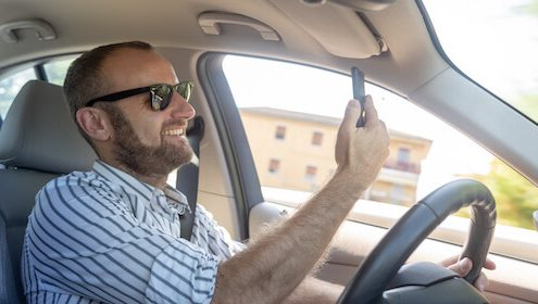 How to Identify a Distracted Driver