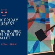 black friday injuries