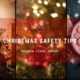christmas safety
